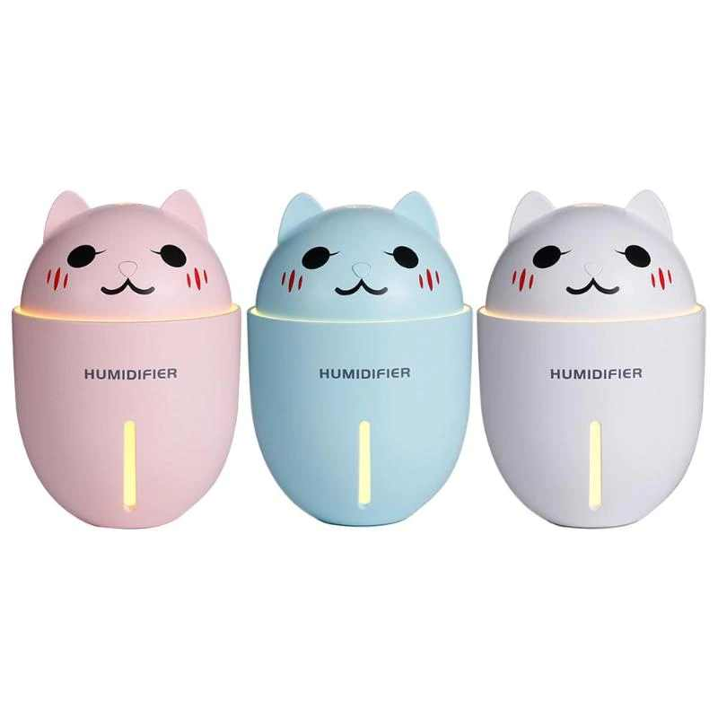 Humidificateur Chat à Ultrason 3 en 1 | vraiment-chat