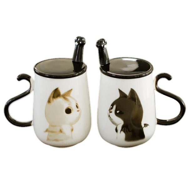 Mug Chat Ange ou Démon