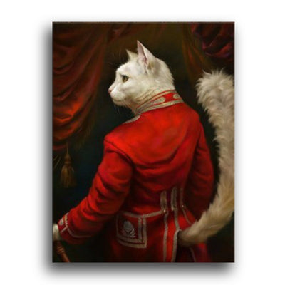 Poster de chat rouge | vraiment-chat