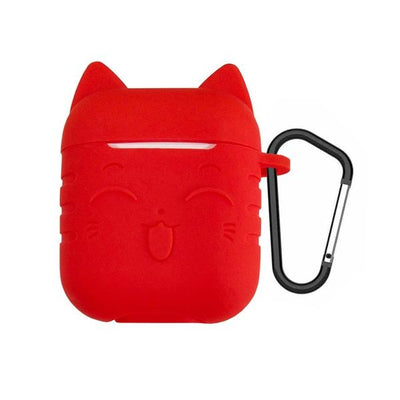Protection pour Airpods Chat en Silicone | vraiment-chat