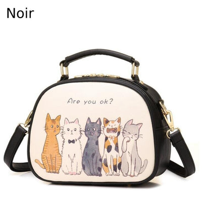 Sac à Main Chat Adorable | vraiment-chat