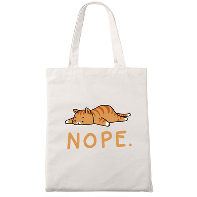 Tote Bag Chat Fatigué | vraiment-chat