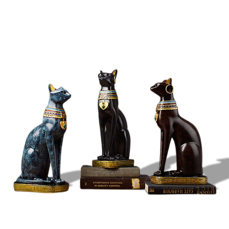 Statuette de Chat Egyptien deluxe