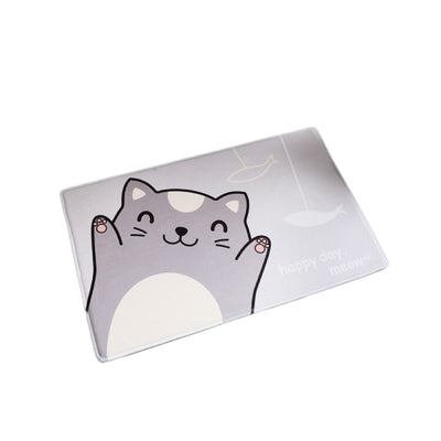 Tapis de sol Chat Happy Day - Vraiment-chat