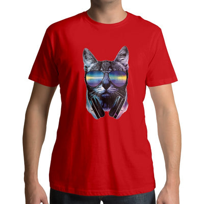 T-Shirt Chat 3D Cool Cat | vraiment-chat