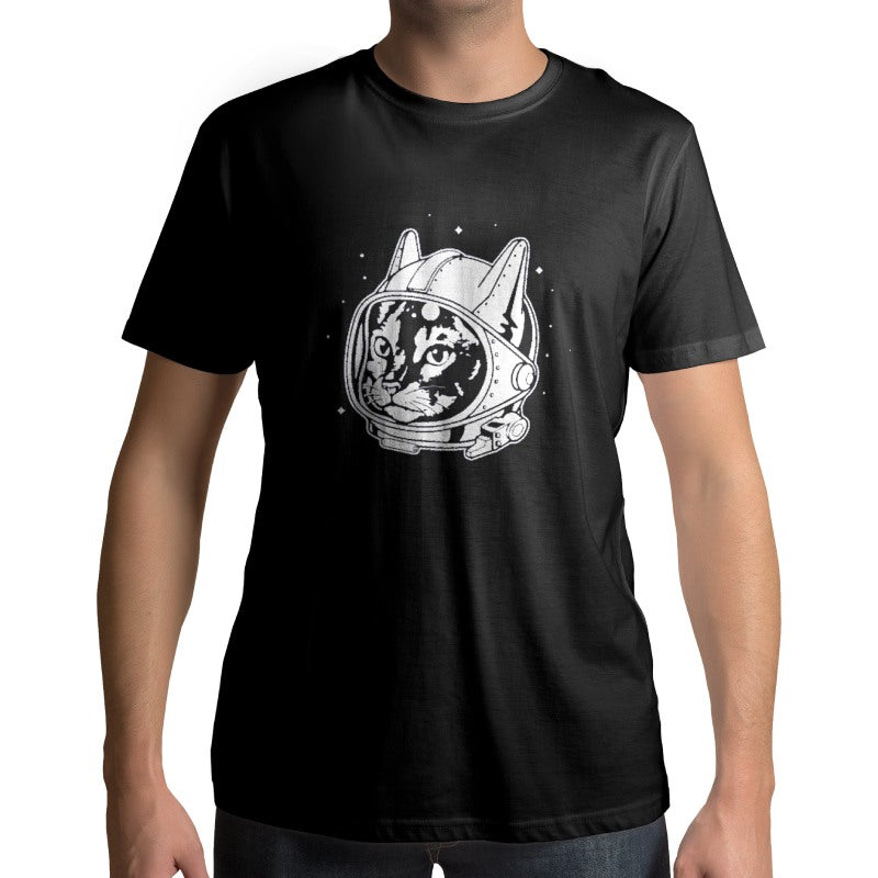 T-Shirt Chat Astronaute | vraiment-chat