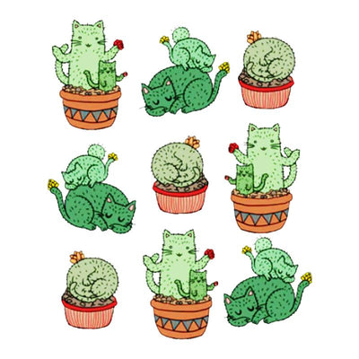 T-Shirt Chat Cactus | vraiment-chat