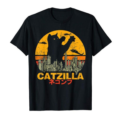 Tee Shirt Chat au Film Catzilla | vraiment-chat