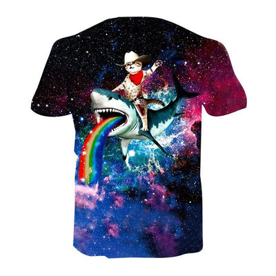 T-Shirt Chat Galaxy | vraiment-chat