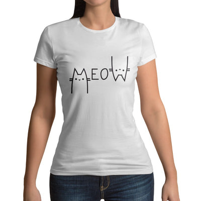 T-shirt chat Meow | vraiment-chat