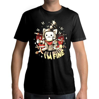 T-Shirt Chat Soldat | vraiment-chat