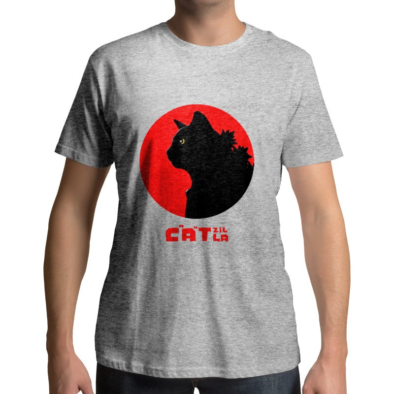 T-Shirt Monstre Catzilla