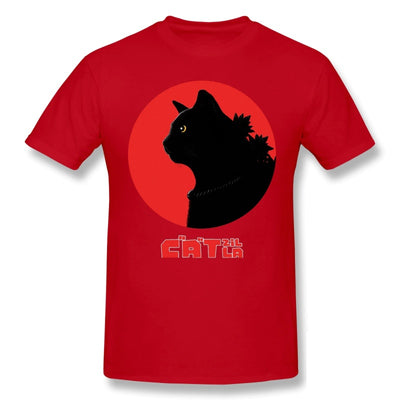T-Shirt Monstre Catzilla | vraiment-chat