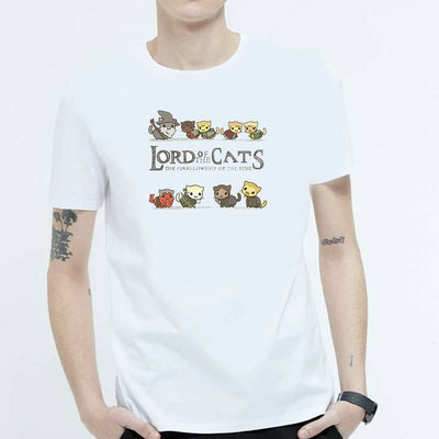 T-Shirt Papa Chat | vraiment-chat