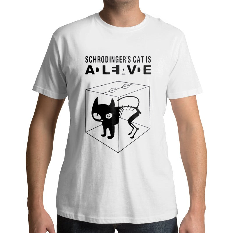 Tee-shirt Schrodinger's Cat