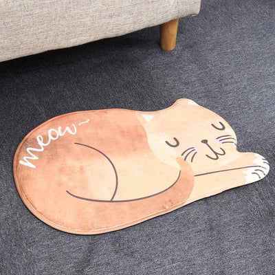Tapis de sol Chat Orange - Vraiment-chat