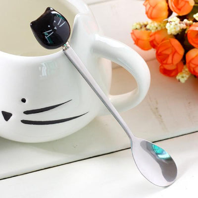Tasse Moustache de Chat | vraiment-chat