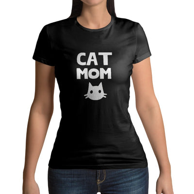 Tee-shirt Chat Femme Cat Mom | vraiment-chat