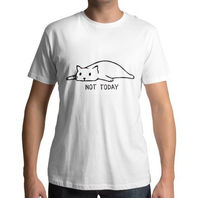 Tee-shirt Imprimé Chat Not Today - Vraiment-chat