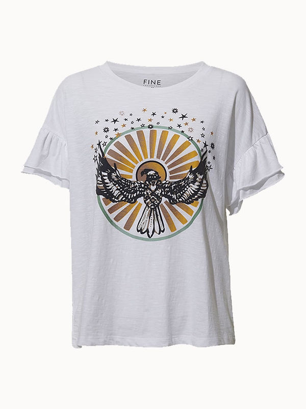Lyon Eagle T-Shirt White