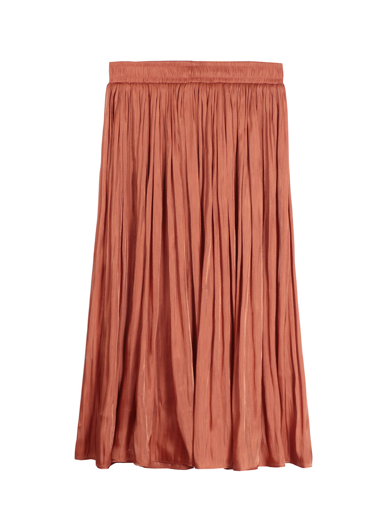Brique Drape Skirt