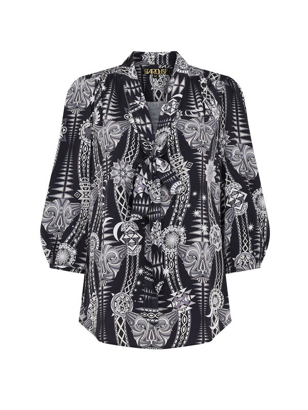 Tribal Candy Blouse Black Diamond