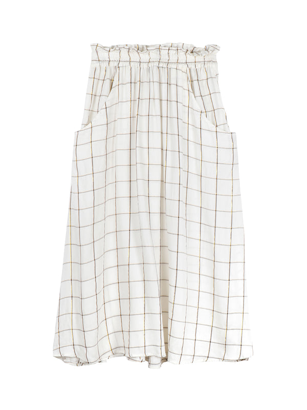 Carreaux Grid Skirt