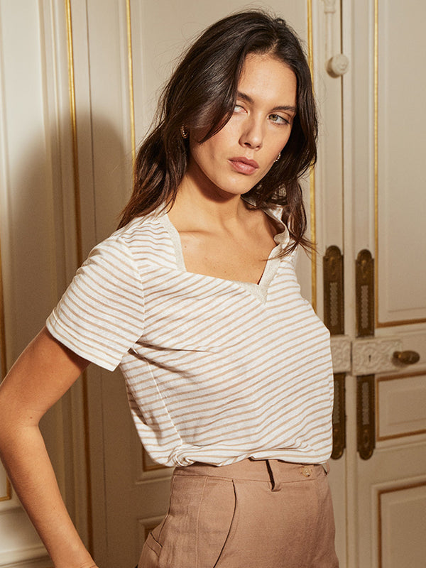 Corentin Striped T-Shirt