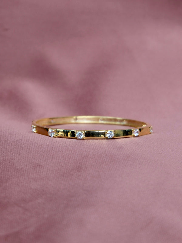 Chunky Square Studded Bangle