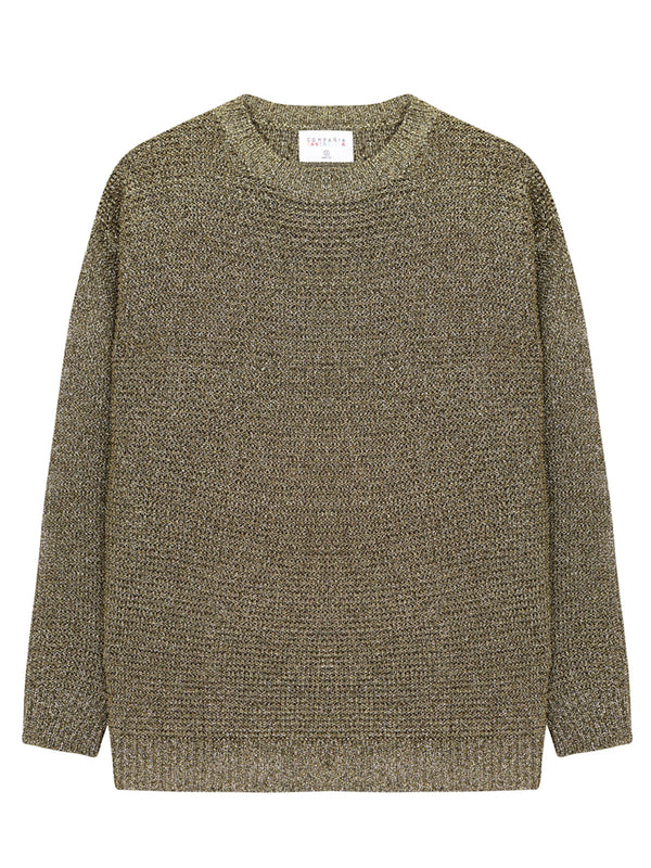 Bronze Knitted Jumper