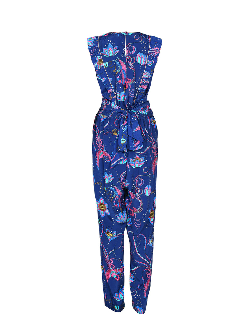 Disco Bird Jumpsuit Navy