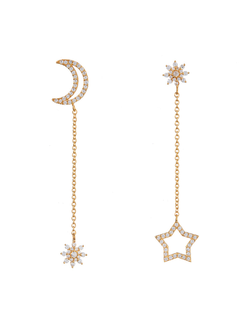 Elisia Gold Earrings