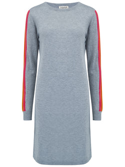 Evie Racing Stripe Dress