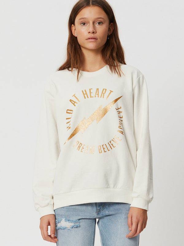 Fiona Lightning Sweatshirt Off White