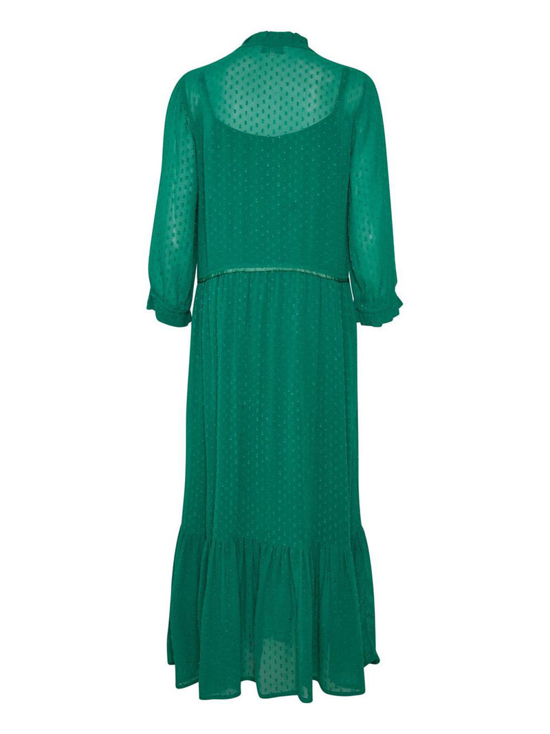 Peaches Dress Verdant Green