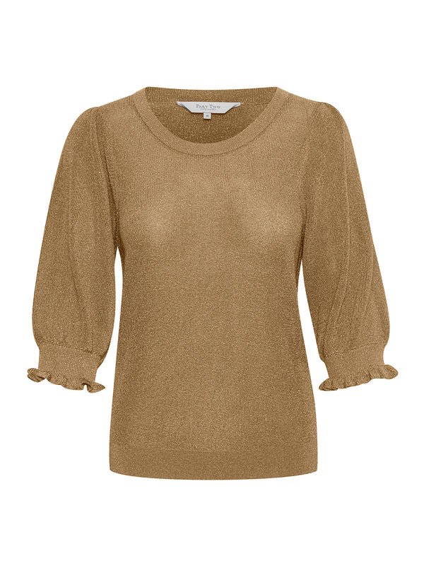 Hebe Gold Pullover