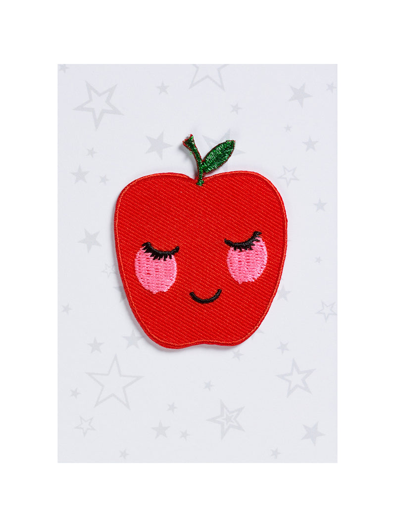 Apple Iron on Patch