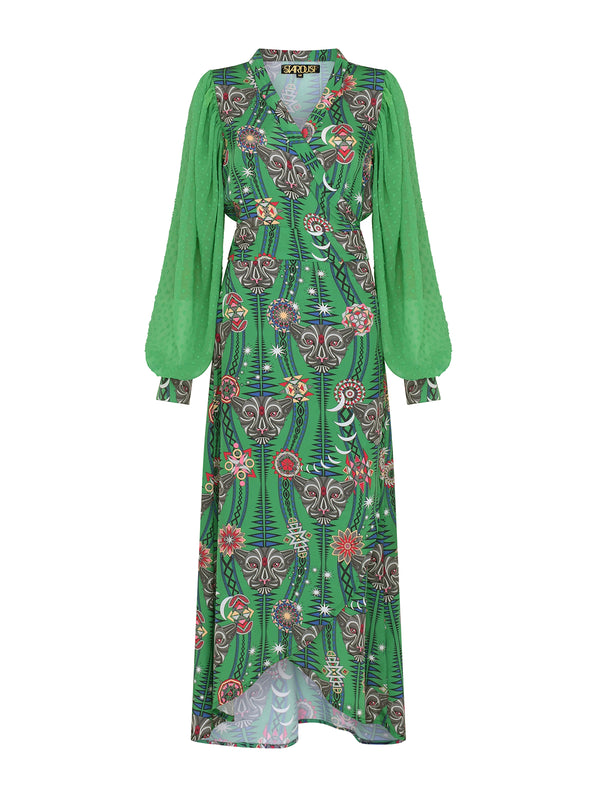Tribal Keaton Maxi Dress Watermelon Tourmaline