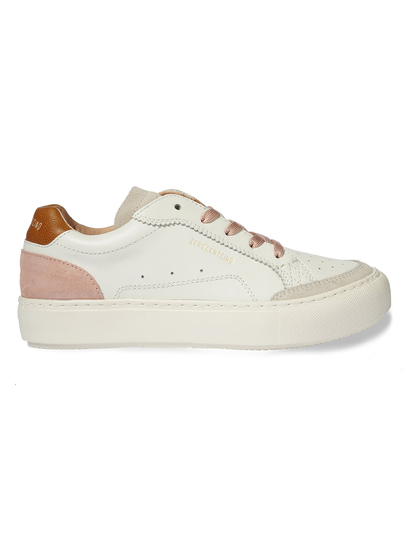 Kony White & Tan Trainers
