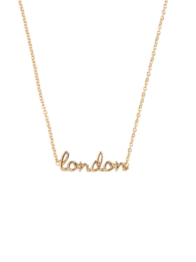 Urban London Necklace Gold