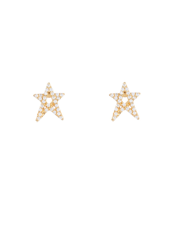 Lullu Gold Earrings