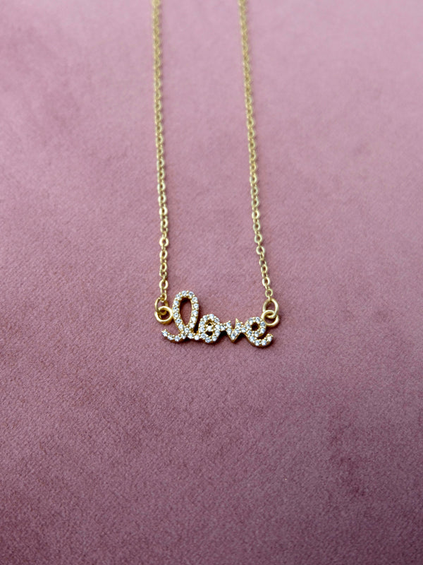 Love Gem Studded Pendant