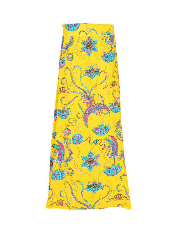 Mabel Bird Skirt Yellow