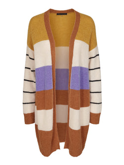 Medition Striped Cardigan