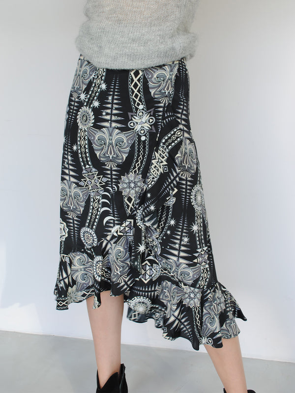Tribal Mia Skirt Black Diamond