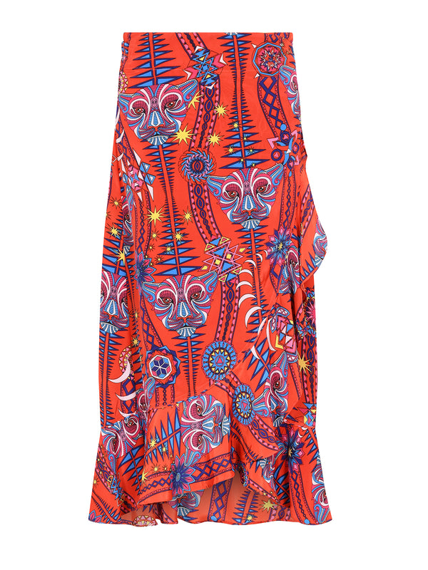 Tribal Mia Skirt Electric Sunset