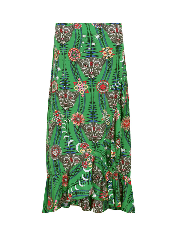 Tribal Mia Skirt Watermelon Tourmaline