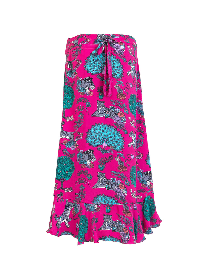 Tiger Mia Wrap Skirt Hot Pink