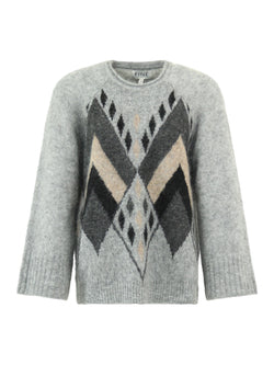 Micca Steel Grey Pullover