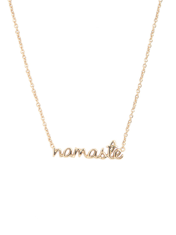 Urban Namaste Gold Necklace